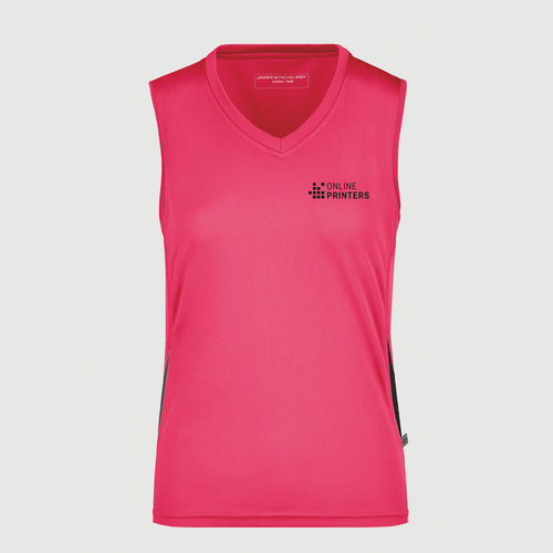 pink / schwarz