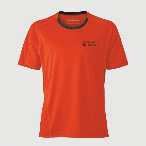 orange / grau